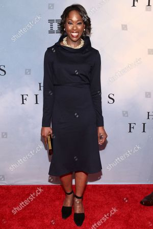 """Margot Lee Shetterly attends the special screening of """"Hidden Figures"""" at the SVA Theatre, in New York"""