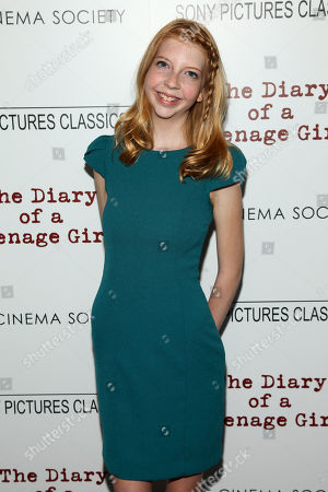 """Editorial photo of NY Special Screening of """"The Diary of a Teenage Girl"""", New York, USA"""