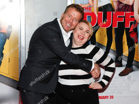 """Stock Picture of McG, left, and Kody Keplinger, right, attend a special screening of """"The Duff"""" at AMC Loews Lincoln Square, in New York"""