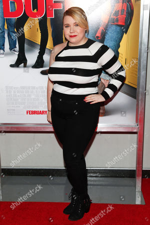"""Stock Photo of Kody Keplinger attends a special screening of """"The Duff"""" at AMC Loews Lincoln Square, in New York"""