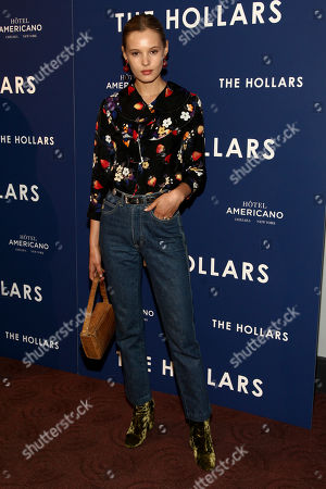 "Paige Reifler attends a special screening of ""The Hollars"" at Cinepolis Chelsea, in New York"