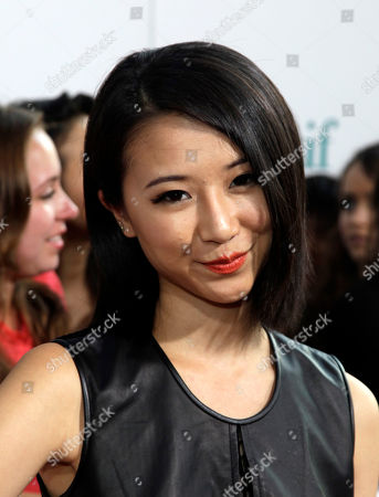 """Actress Annie Q attends a screening of """"What If"""", in New York"""