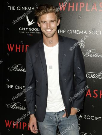 "RJ King attends a screening of ""Whiplash"" hosted by The Cinema Society & Brooks Brothers on in New York"