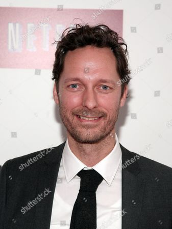 """Actor Trond Fausa attends a screening of the Netflix television series """"Lilyhammer"""" on in New York"""