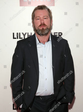 "Actor Fridtjov Saheim attends a screening of the Netflix television series ""Lilyhammer"" on in New York"