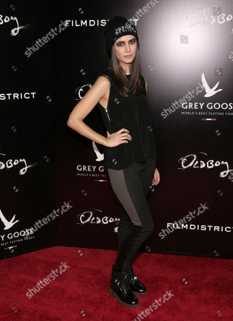 """Stock Photo of Actress Victoria Geil attends a screening of """"Oldboy"""" presented by FilmDistrict & Complex Media with the Cinema Society on in New York"""