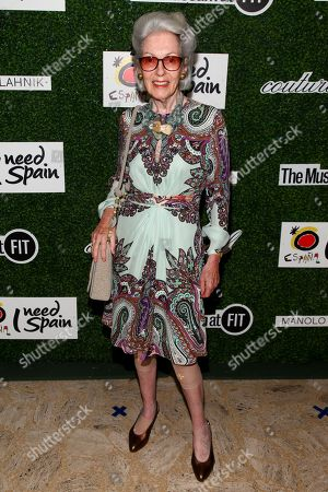 Editorial image of NYFW Spring/Summer 2016 - 2015 Couture Council Awards Luncheon, New York, USA
