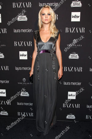 Fashion model Viktoriya Sasonkina attends Harper's Bazaar Icons celebration during NYFW Spring/Summer 2017 at the Plaza Hotel, in New York