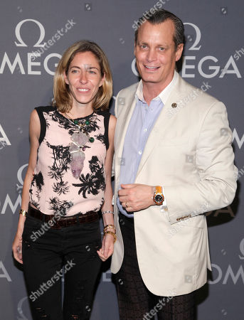 Editorial photo of Omega Speedmaster Dark Side of the Moon Launch Event, New York, USA