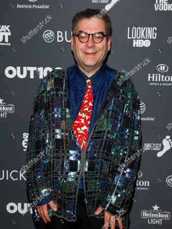 Michael Musto attends the OUT100 2014 Awards at Stage 48, in New York