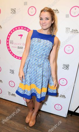 Lenay Dunn gets fashion week ready at The Panasonic Beauty Bar -Day 2 held at Salon SCK, in New York