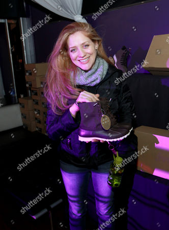 Augustine Frizzell is seen at PCL Day Lounge Day 3 on in Park City, Utah