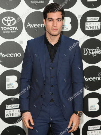 "Stock Photo of Danilo Carrera attends People en Espanol's ""50 Most Beautiful Awards"" at IAC, in New York"
