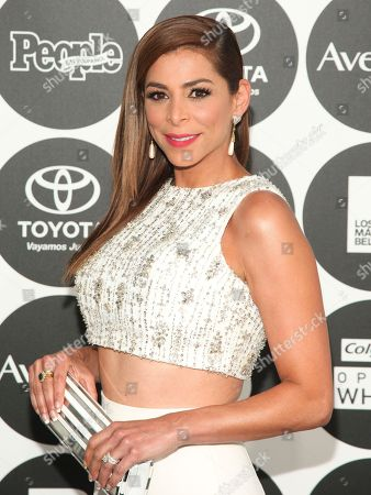 """Lourdes Stephen attends People en Espanol's """"50 Most Beautiful Awards"""" at IAC, in New York"""