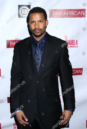 Trae Ireland attends Los Angeles Premiere of ???Free Angela and All Political Prisoners??? at Pan African Film Festival at Rave Cinemas Baldwin Hills on in Los Angeles, California