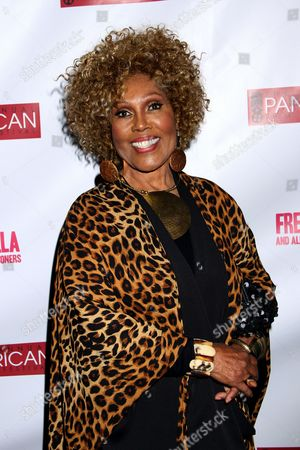 Ja???Net DuBois attends Los Angeles Premiere of ???Free Angela and All Political Prisoners??? at Pan African Film Festival at Rave Cinemas Baldwin Hills on in Los Angeles, California
