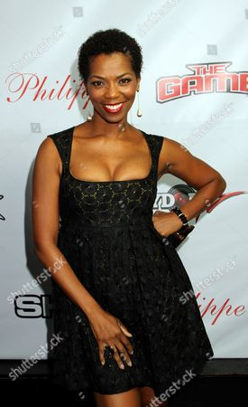 Actress Vanessa A. Williams attends the Private Black Friday Birthday Dinner for The Game at Philippe on in Beverly Hills, California