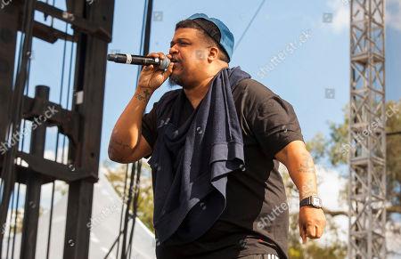 David Jude Jolicoeur Dave of De La Soul seen at Riot Fest & Carnival in Douglas Park on in Chicago