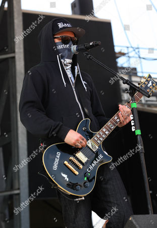Jordon Terrel aka Charlie Scene of Hollywood Undead performs at Rock on the Range on in Columbus, Ohio