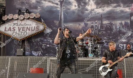 Matt Walst and Brad Walst of Three Days Grace perform at Rock on the Range on in Columbus, Ohio