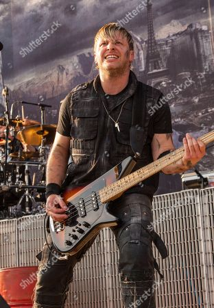 Brad Walst of Three Days Grace performs at Rock on the Range on in Columbus, Ohio