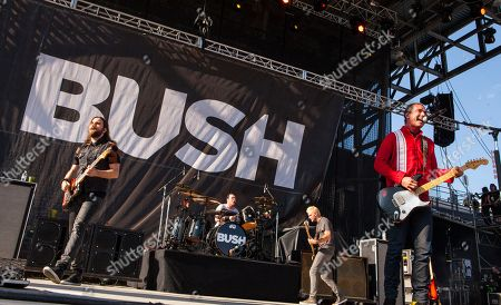 Chris Traynor, Robin Goodridge, Corey Britz and Gavin Rossdale of Bush perform at Rock on the Range on in Columbus, Ohio