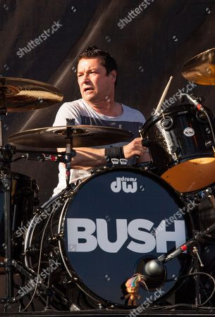 Robin Goodridge of Bush performs at Rock on the Range on in Columbus, Ohio