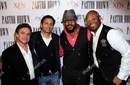 Editorial picture of Rockmond Dunbar's Directorial Debut Screening of Pastor Brown, Studio City, USA