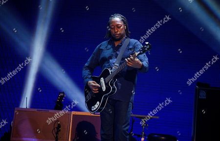 Darryl Jones performs with the Rolling Stones at the United Center on in Chicago