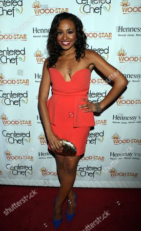 Janell Snowden attends Shannon Brown Wood-Star Foundation Dinner on Friday August, 18, 2012, at The Loft in Chicago, Illinois