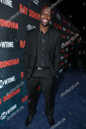 Kwame Patterson pictured at SHOWTIME and Time Warner Cable Ray Donovan Season 2 premiere on Wednesday, July 9 at Nobu in Malibu, Calif