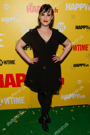 """Stock Picture of Molly Hager attends the Showtime series premiere of """"HAPPYish"""" at the Sunshine Cinema, in New York"""