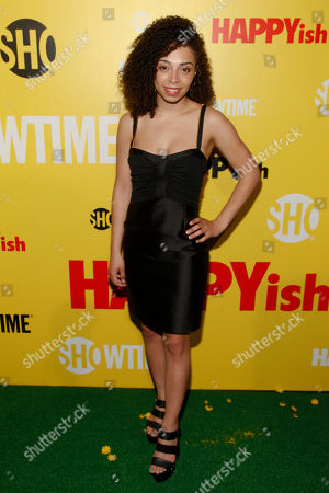 """Hannah Hodson attends the Showtime series premiere of """"HAPPYish"""" at the Sunshine Cinema, in New York"""