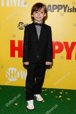 "Editorial image of Showtime Series Premiere Of ""HAPPYish"", New York, USA"