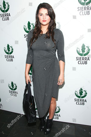 "Lily Lane attends Sierra Club ""Act in Paris"", a night of comedy and climate action, at The Heath at The McKittrick Hotel, in New York"