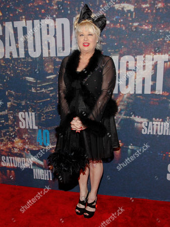 Victoria Jackson attends the SNL 40th Anniversary Special at Rockefeller Plaza, in New York