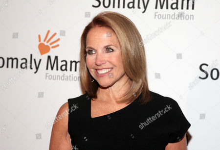 Television journalist Katie Couric attends the Somaly Mam Foundation Gala on in New York
