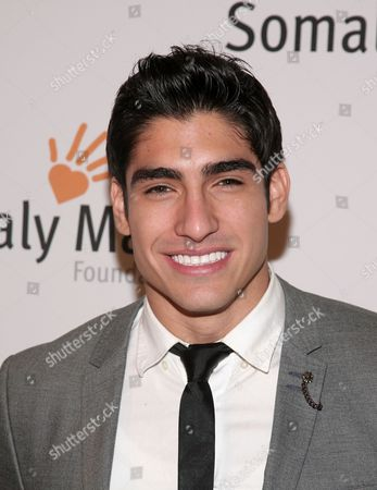 Mr. World 2012 Francisco Escobar attends the Somaly Mam Foundation Gala on in New York