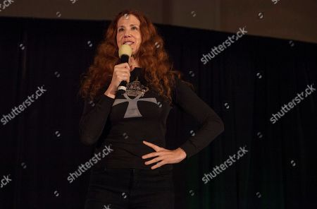Actor Suzie Plakson during the Creation Entertainment's Official Star Trek Convention at The Westin O'Hare, on in Rosemont, IL