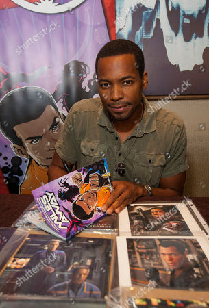 Actor Anthony Montgomery during the Creation Entertainment's Official Star Trek Convention at The Westin O'Hare, on in Rosemont, IL