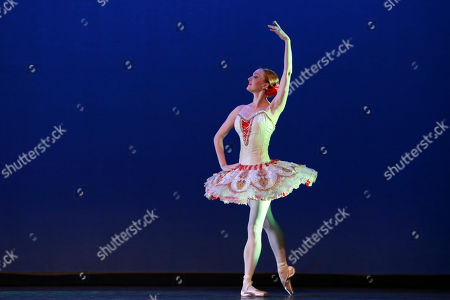 ABT principal dancer Gillian Murphy performs at the NYC Premiere of Starz's original limited series Flesh and Bone at the NYU Skirball Center for the Performing Arts, in NYC