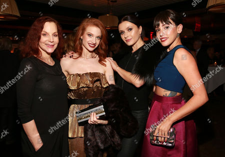 Leslie Browne, Sarah Hay, Irina Dvorovenko and Raychel Weiner attend the New York City premiere of Starz's original limited series Flesh and Bone at the NYU Skirball Center for the Performing Arts on in New York