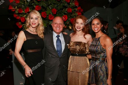 Creator and executive producer Moira Walley-Beckett, Starz CEO Chris Albrecht, Misty Copeland and Sarah Hay seen at the NYC Premiere of Starz's original limited series Flesh and Bone at the NYU Skirball Center for the Performing Arts, in NYC