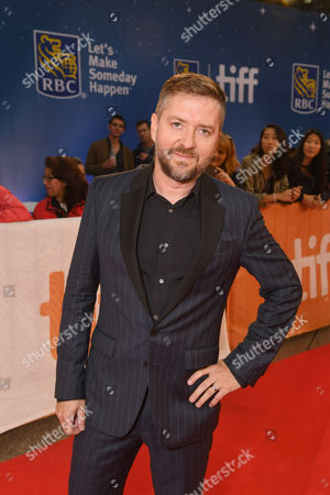 "Composer Atli Orvarsson seen at STX Entertainment's ""THE EDGE OF SEVENTEEN"" at the 2016 Toronto International Film Festival, in Toronto"