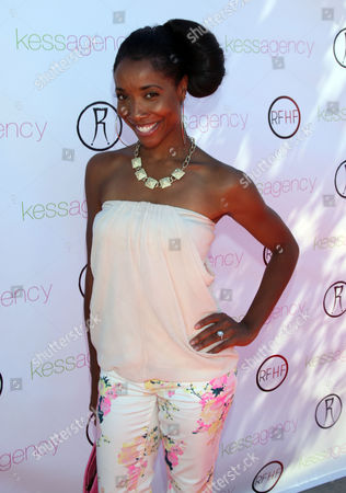 "Kita Williams arrives at Robi Reed's 10th Annual ""Sunshine Beyond Summer"" Celebration - The Day Party with a Purpose at the Getty House, in Los Angeles"