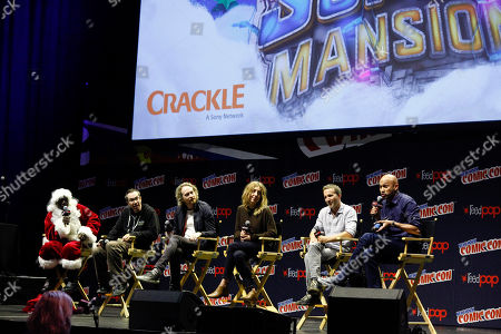 Editorial image of SuperMansion: War On Christmas - NYCC, New York, USA