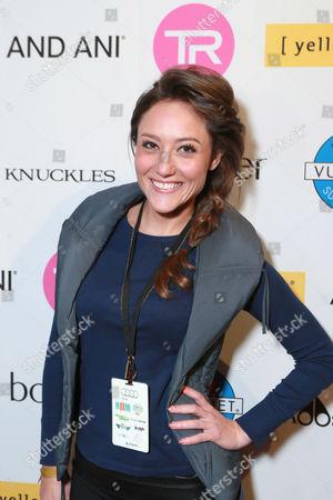 Lauren C. Mayhew attends Talent Resources Suites,, in Park City, Utah
