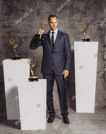 Lucas Akoskin poses for a portrait at the Television Academy's 67th Emmy Awards Performers Nominee Reception at the Pacific Design Center on in West Hollywood, Calif