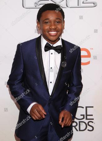 Curtis Harris arrives at the 46th NAACP Image Awards at the Pasadena Civic Auditorium, in Pasadena, Calif