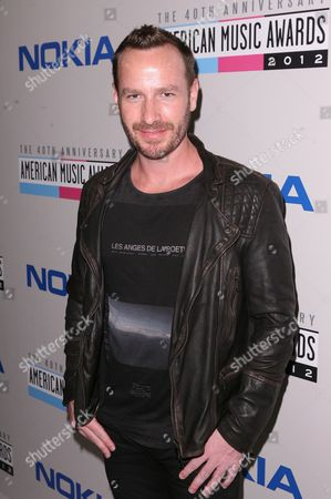 Jason Bentley arrives at The Electronic Dance Music Party at the American Music Awards, on in Los Angeles